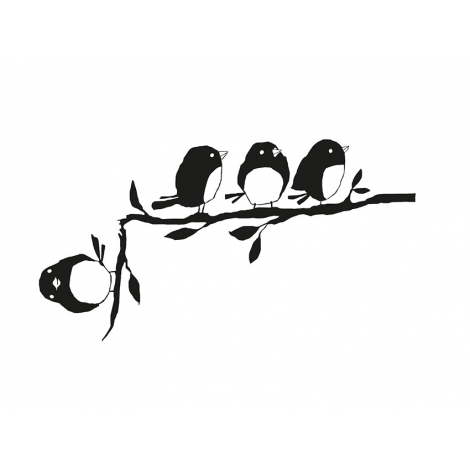 Sticker Un de trop de la collection Poetic Wall 2017 sur LaCorbeille.fr