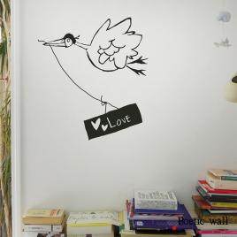 Sticker La Bonne Nouvelle de la collection Poetic Wall 2017 sur LaCorbeille.fr