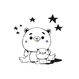 "Sticker ""Teddy bear"""