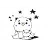 """Sticker """"Teddy bear"""""""