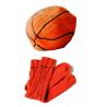 Chaussette ballon de basket design L'Air de Rien sur LaCorbeille.fr