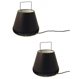 Set of 2 Small Abatladeur Lamps