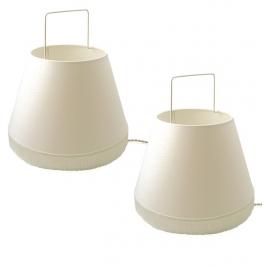 Lot de 2 lampes Abatladeur Moyen
