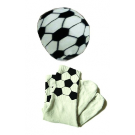 Chaussettes Ballon de football design L'Air de Rien sur LaCorbeille.fr