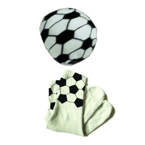 Chaussettes Ballon de football design L'Air de Rien sur LaCorbeille.fr