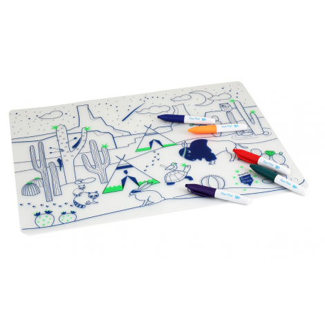 Cactus Valley table mat