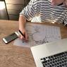 Silicone Notepad de la marque Superpetit sur LaCorbeille.fr