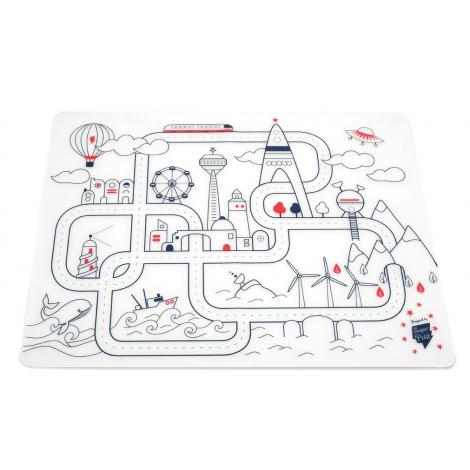 City Adventure table mat