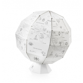 My first Globe : mappemonde à colorier