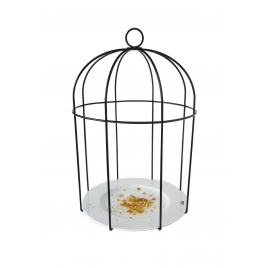 Mangeoire à oiseau Cage