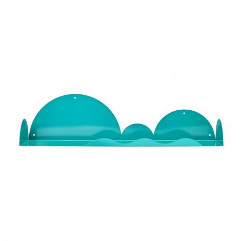 Etagère Vague de la marque Bleu Carmin sur LaCorbeille.fr