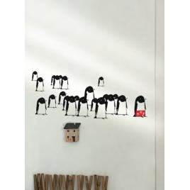 """Sticker Petit Murmure """"Drôle de Banquise"""" du duo Mel et Kio - nouvelle collection Les Petits Murmures sur LaCorbeille.fr"""