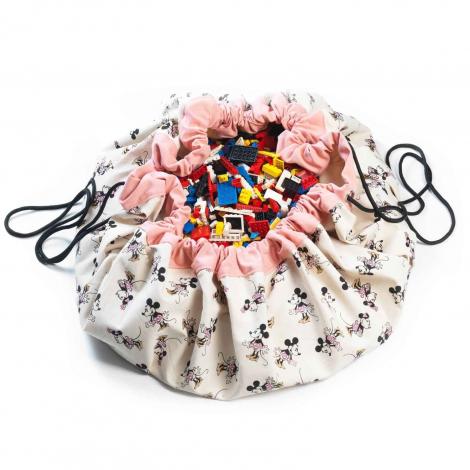 Toys bag / Play mat Minnie Gold