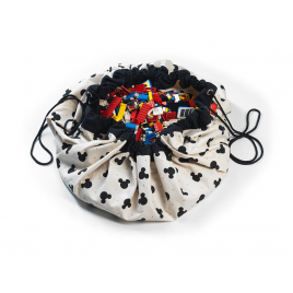 Toys bag / Play mat Mickey Black