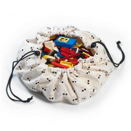 Petit sac de rangement Cerise de la marque Play and Go sur LaCorbeille.fr