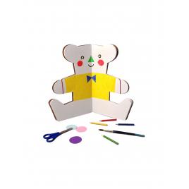 Cahier Ours à colorier / à habiller