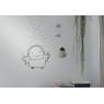 Sticker Sous la Pluie de la collection Poetic Wall du Duo Mel et Kio sur LaCorbeille.fr