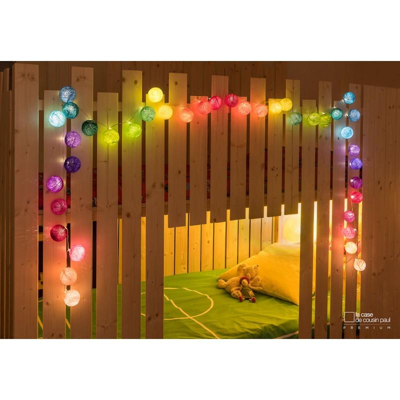 Premium light garland by La Case de Cousin Paul ...