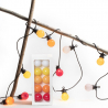 """Guinguette"" outdoor light garland by La Case de Cousin Paul"
