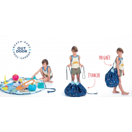 Sac / Tapis de jeu imperméabilisé Surf de la marque Play & Go sur LaCorbeille.fr