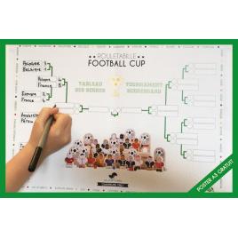 Poster Résultats Coupe du Monde 2018 offert pour tout achat de la gamme foot Les Jouets Libres