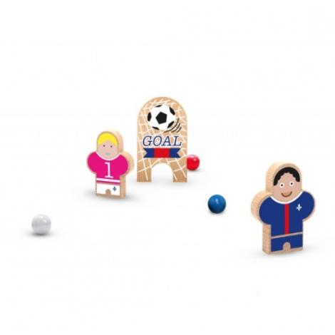 Rouletabille Football CLUB PSG, OM, Real Madrid, Barcelone... de la marque Les Jouets Libres sur LaCorbeille.fr