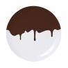 """paire d'assiettes """"Chocolat"""" design Ich et Kar pour Domestic sur LaCorbeille.fr"""