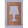 Lampe Outlight en chêne ou blanc laqué sur LaCorbeille.fr