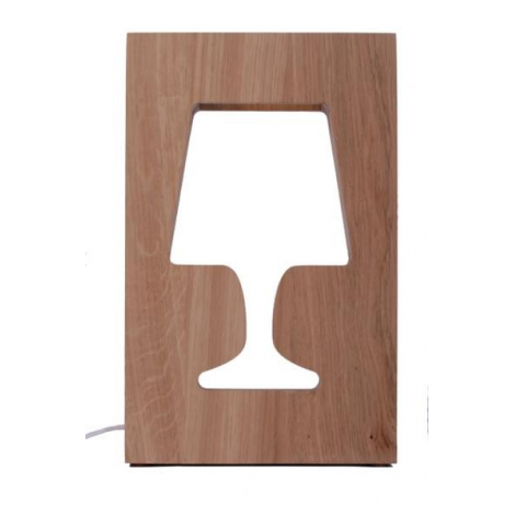 Outlight Lamp in oak - 2nd choice