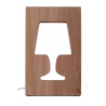 Outlight Lamp in oak - 2nd choice