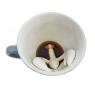 Porcelain T-Rex cup