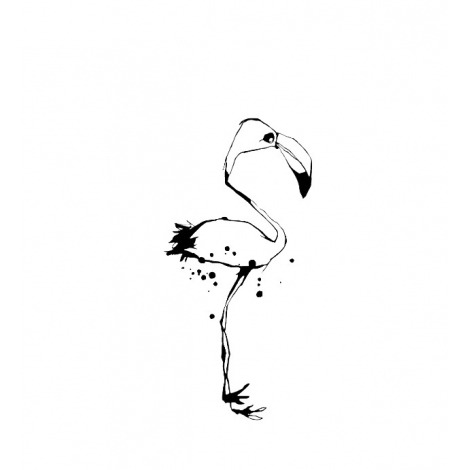 Poetic Wall : Flamingo