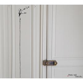 Stickers Les Tout Là Haut : La Danseuse de la gamme Poetic Wall par Mel et Kio sur LaCorbeille.fr