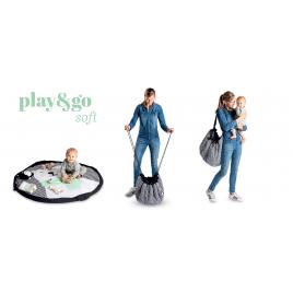 Sac / Tapis de jeu Ours Polaire Soft de la marque Play and Go sur LaCorbeille.fr