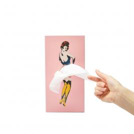 Tissue box : Tissue Up Girl