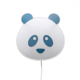 Blue Panda wall light