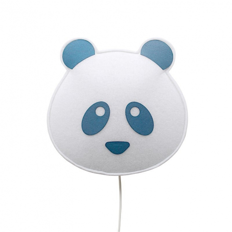 Blue Panda wall light