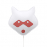 Applique Raton Laveur rouge de la marque BuoKids sur LaCorbeille.fr