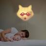 Red Raccoon wall light