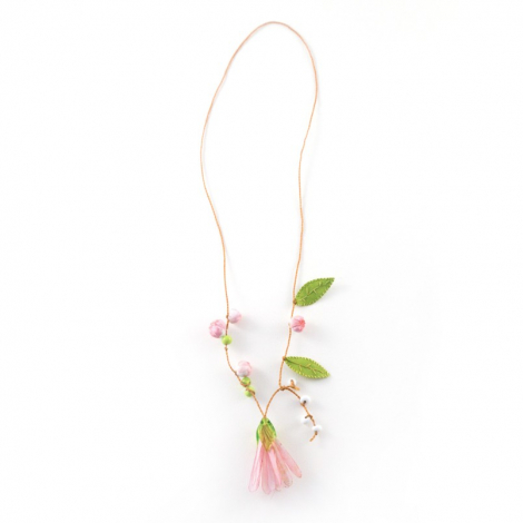 "Necklace ""Flowers and Buds"""