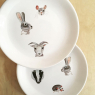 Porcelain stickers Animals