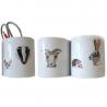 Porcelain stickers Animals
