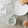 Porcelain stickers Dots