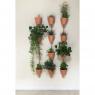 Wall mount for 3 pots Xpot 02