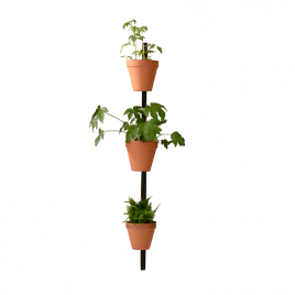 Wall mount for 3 pots Xpot 02