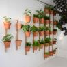 Support mural 3 pots Xpot 02 de la marque Compagnie sur LaCorbeille.fr