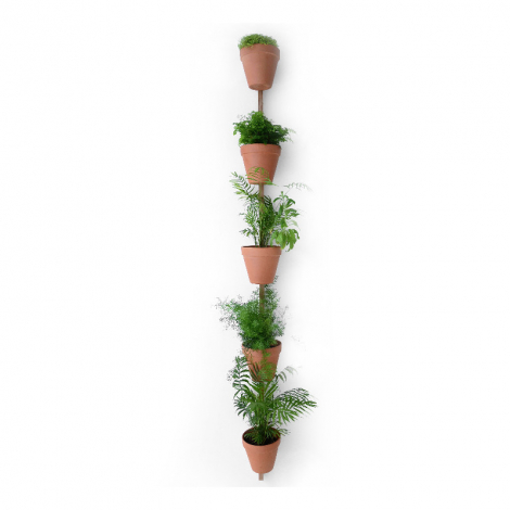Wall mount for 5 pots Xpot 04