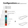 Composition Xpot Small A droit de la marque Compagnie sur LaCorbeille.fr