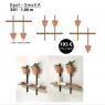 Composition Xpot Small A Arrondi de la marque Compagnie sur LaCorbeille.fr