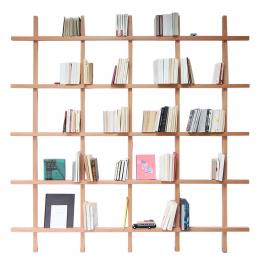 Bibliothèque en Bois Mike